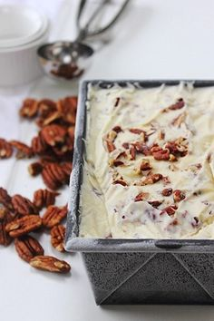 buttered pecan ice cream
