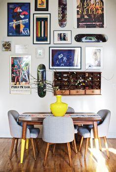 Peek Inside Lulu Frost Designer Lisa Salzer's Jewel Box Of An Apartment