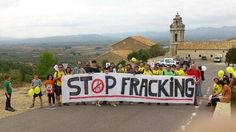 'We say no to shale gas': World unites against fracking. 'Activists from 26 countries participated in around 250 protests on Saturday to demonstrate against fracking technologies, which they say contaminate groundwater and hasten climate change. GOOD PICS @ http://rt.com/news/global-frackdown-fracking-protest-442/