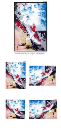 Contemporary wall Art - Extra Large Wall Art Original Handpainted Contemporary XL Abstract Painting Horizontal Vertical Huge Size Art Bright and Colorful Kids Canvas Art, Canvas Wall Art, Wall Art Prints, Extra Large Wall Art, Large Art, Large Canvas, Texture Painting On Canvas, Canvas Paintings, Large Painting