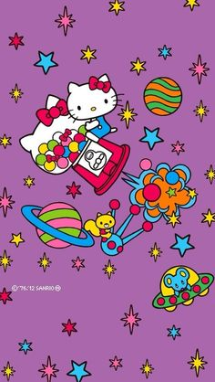 hello kitty in space