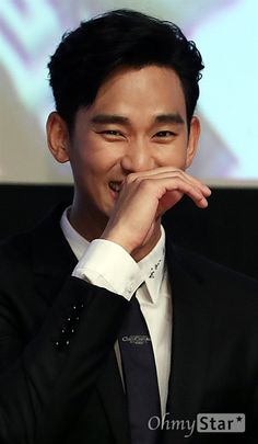 Kim Soo Hyun All Smiles and More Smiles at the Press Conference for Thriller Movie Real | A Koala's Playground