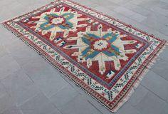 "Turkish Rug 62''x96"" Hand Woven Kars Carpet 158x245cm  #Turkish"
