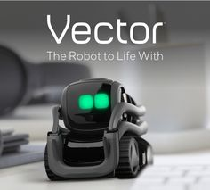 Vector Robot Vector – more than a home robot, he's your buddy, your companion, and he'll … Electronics Gadgets, Technology Gadgets, Robot Vector, Escape Character, Cozmo Robot, Keep Fit, Cool Tech, Home Security Systems, Cool Gadgets