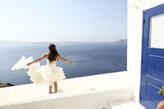 Elope to Santorini - yes please!!