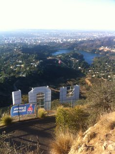 Hollywood Hotel - View of Lake Hollywood from Mount Lee ...