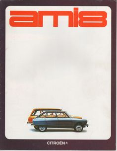 Brochure Citroen Ami 8