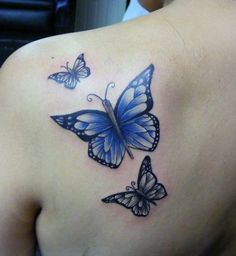 butterfly tattoo www.tattooandtattoo.com