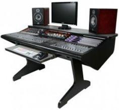 Malone Design Works MC Desk - home recording studio furniture
