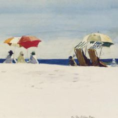Edward Hopper (1882-1976) Gloucester Beach, Bass Rocks