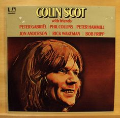 COLIN SCOTT - Same - Vinyl LP Phil Collins Bob Fripp Peter Gabriel Peter Gabriel