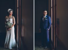 Hellen & Gabe's Flushing Town Hall, NY wedding captured by NY NJ wedding photographers Pearl Paper Studio.