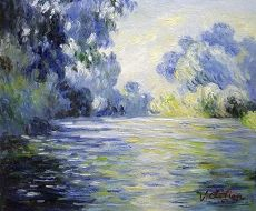 Monet Arm Of The Seine At Giverny