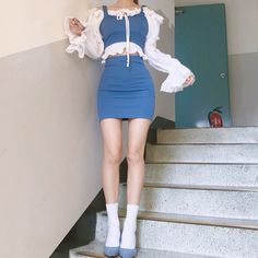 Image may contain: one or more people, people standing and shoes Korean Girl Fashion, Ulzzang Fashion, Kpop Fashion Outfits, Stage Outfits, Edgy Outfits, Cute Casual Outfits, Asian Fashion, Pretty Outfits, Kawaii Fashion