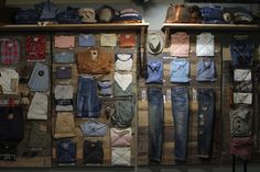 #Levis.  #thingsorgainizedneatly #retail #design