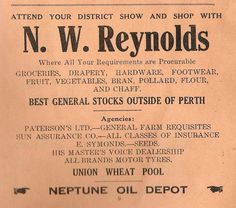 1933 Carnamah Agricultural Show Schedule Old Shows, Perth, Booklet, Schedule, The Outsiders, Advertising, Timeline