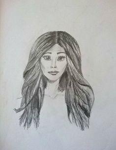 Drawing faces #drawing #hair #face #sketch #diy