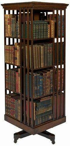 54 best revolving book stand shelf images in 2019 bookshelves rh pinterest com