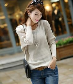 Beautiful  Sweet  primer -Pullover Sweaters   Pullover Sweaters_BT (Black,Cream,colored,Dark,Blue,Date,red,pink) Pullover from stylishplus.com