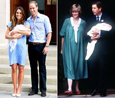 Kate Middleton like Princess Diana in Polka-Dot Dress - love Kate's baby bump.... so real.