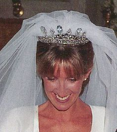Unknown Spanish aristocratic family tiara - aquamarines
