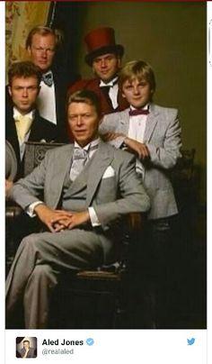 David Bowie & Aled Jones