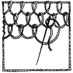 """Книга: """"Старинные секреты плетения кружев"""" (глава 2.2, продолжение)"""