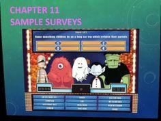 Ch 11 Sample Surveys