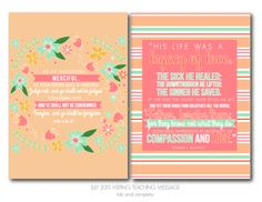 July 2015 Visiting Teaching Message Printable - Beautiful FREE PRINTABLE of an inspiring message that you will want in your home.