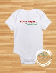 Check out this item in my Etsy shop https://www.etsy.com/listing/255708670/silent-night-baby-onesie