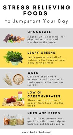 Here are powerful stress-relieving foods to power up your day. Let's look at some of the more therapeutic foods you'll want to include in your diet in this article. Holistic Nutrition, Nutrition Tips, Health And Nutrition, Health And Wellness, Health Tips, Health Resources, Health Articles, Nutrition Education, Women's Health