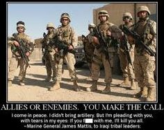 """Man One of my favorite Military quotes.My favorite is.""""Stand Behind Our Troops or Feel Free To Stand In Front of Them""""One of my favorite Military quotes.My favorite is.""""Stand Behind Our Troops or Feel Free To Stand In Front of Them"""" Marine Quotes, Military Quotes, Military Humor, Military Life, Usmc Quotes, Military History, Veterans Quotes, Military Officer, Military Pictures"""