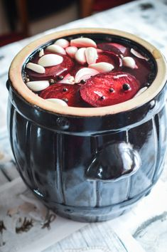 Healthy Dessert Recipes, Fruit Recipes, Healthy Juices, Healthy Tips, Home Recipes, Cooking Recipes, Polish Recipes, Smoothie Drinks, Fermented Foods