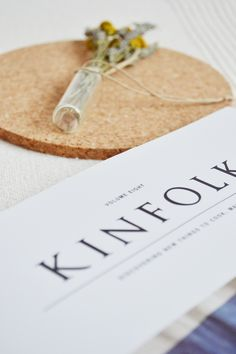 Kinfolk magazine Magazine Fonts, Kinfolk Magazine, Print Packaging, Scandinavian Interior, Wabi Sabi, Hygge, Magazines, Photographs, Typography