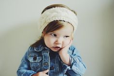 Handmade Knit Cable Toddler Headwrap by MaxOliviaKnitwear on Etsy