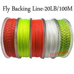 300 75 150 200 Orvis Dacron Fly Line Backing up to 2500 yds 250 30 lb Test 100 White 50