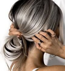silver hair color ideas and tips for dyeing, maintaining your grey hair 10 ~ thereds. Hair Day, New Hair, Your Hair, Great Hair, Gorgeous Hair, Pretty Hairstyles, Style Hairstyle, Wedding Hairstyles, Men's Hairstyle