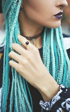 BLCK BEAUTY | Vintageena Protective Braids, Afro Braids, Braids With Extensions, Feed In Braid, Hair Color And Cut, Great Hair, Braid Styles, Dreads, Hair Goals