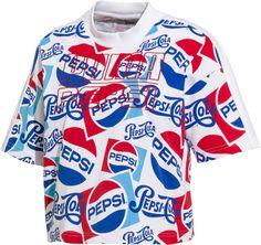 Puma x Pepsi Damen Graphic Crop Top Shirt PumaPuma Crop Top Shirts, Crop Tee, Tee Shirts, Tees, Pepsi Cola, Fashion Brands, Sportswear, Men Casual, Mens Tops