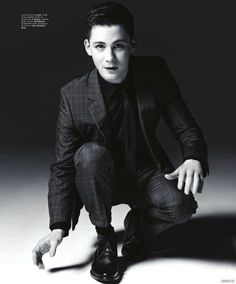 logan lerman, love everything about this shot