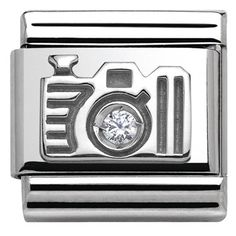 Nomination Silver Camera Charm | Argento.co.uk