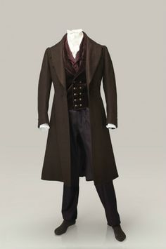 Malet's 'new' frock coat (see scene with tailor).  There are no pleats or gathers.  The cut would tend to highlight an athletic walk.