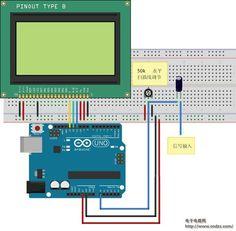 Make a digital oscilloscope via Arduino