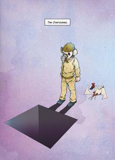 """Neues Motiv aus meiner fortlaufenden Serie """"ONE. Graphic Lyrics by Markus Freise"""". Klicken für das ganze Bild. Comic, Illustration, Movie Posters, Art, Movie, Storytelling, The Last Song, Art Background, Comic Strips"""