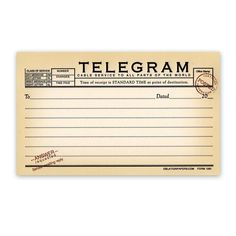 Telegram All Occasion Notes