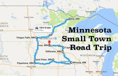 Plan a trip through some of Minnesota's most charming towns.