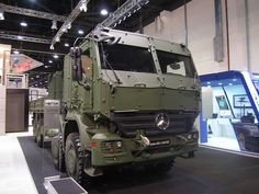 Military Mercedes Actros