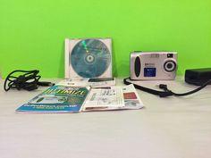 HP Photo Smart 215 Digital Camera CD and All Cords | eBay