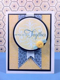"""""""We're in this together"""" card by Courtney Lane Designs."""