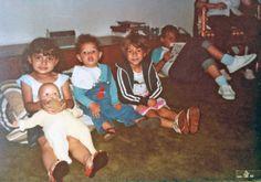 sala da casa do bairro assunção. anos 80. recebendo amigos.